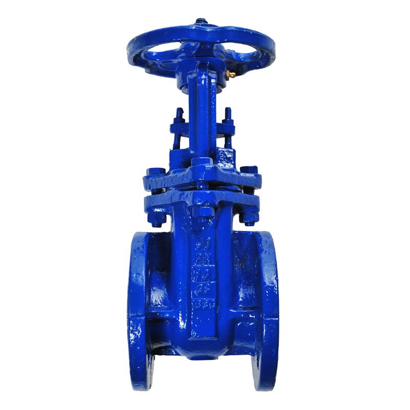 Gate valve nfe standard ggg ductile iron outside