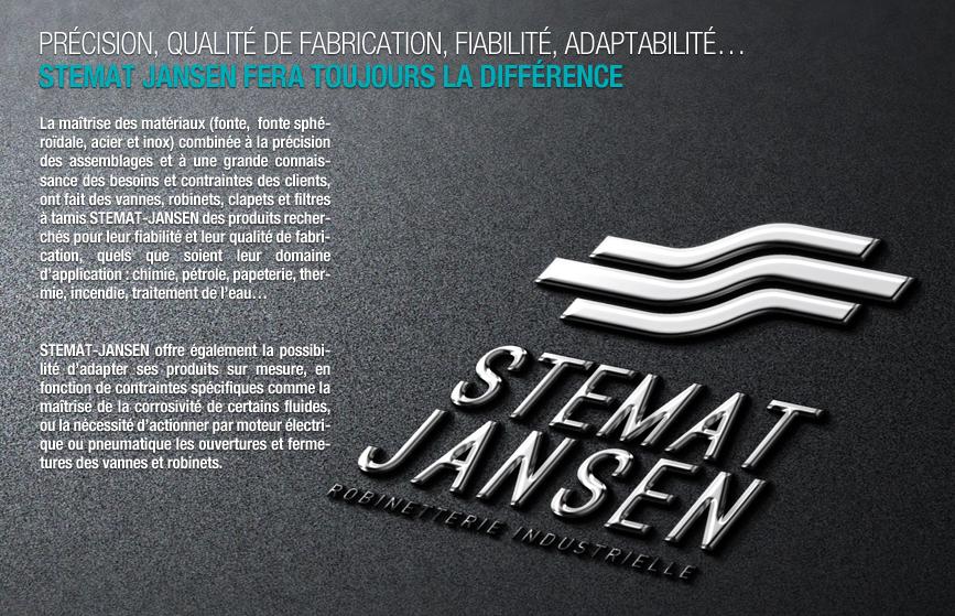 stemat jansen, spécialiste robinetterie industrielle