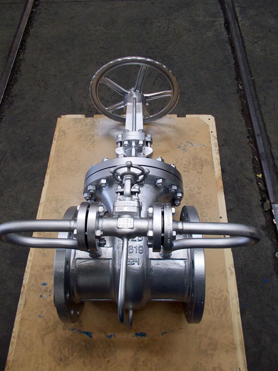 Adaptation d'une vanne à passage direct DN250 PN40 avec un by pass